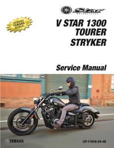 yamaha v star 1300  stryker  workshop & repair manual