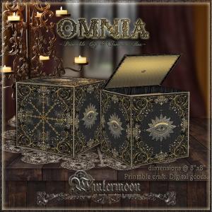 omnia: printable gift & treasure box