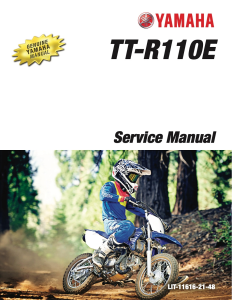 YAMAHA MOTORCYCLE TT-R110E  Workshop & Repair manual | Documents and Forms | Manuals