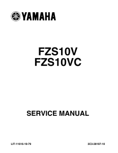 YAMAHA MOTORCYCLE FZ1 2006-2015  Workshop & Repair manual | Documents and Forms | Manuals
