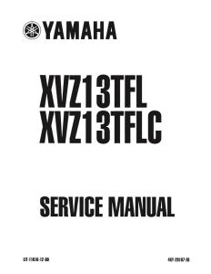 YAMAHA MOTORCYCLE ROYAL STAR VENTU  Workshop & Repair manual | Documents and Forms | Manuals