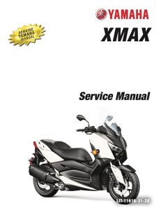 YAMAHA SCOOTER XMAX 20016-2020  Workshop & Repair manual | Documents and Forms | Manuals