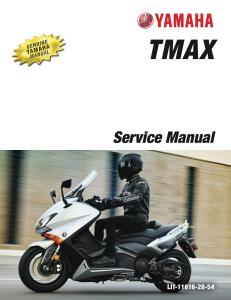 yamaha scooter tmax 2015-2016  workshop & repair manual