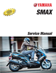 YAMAHA SCOOTER SMAX 2015-2020  Workshop & Repair manual   Documents and Forms   Manuals