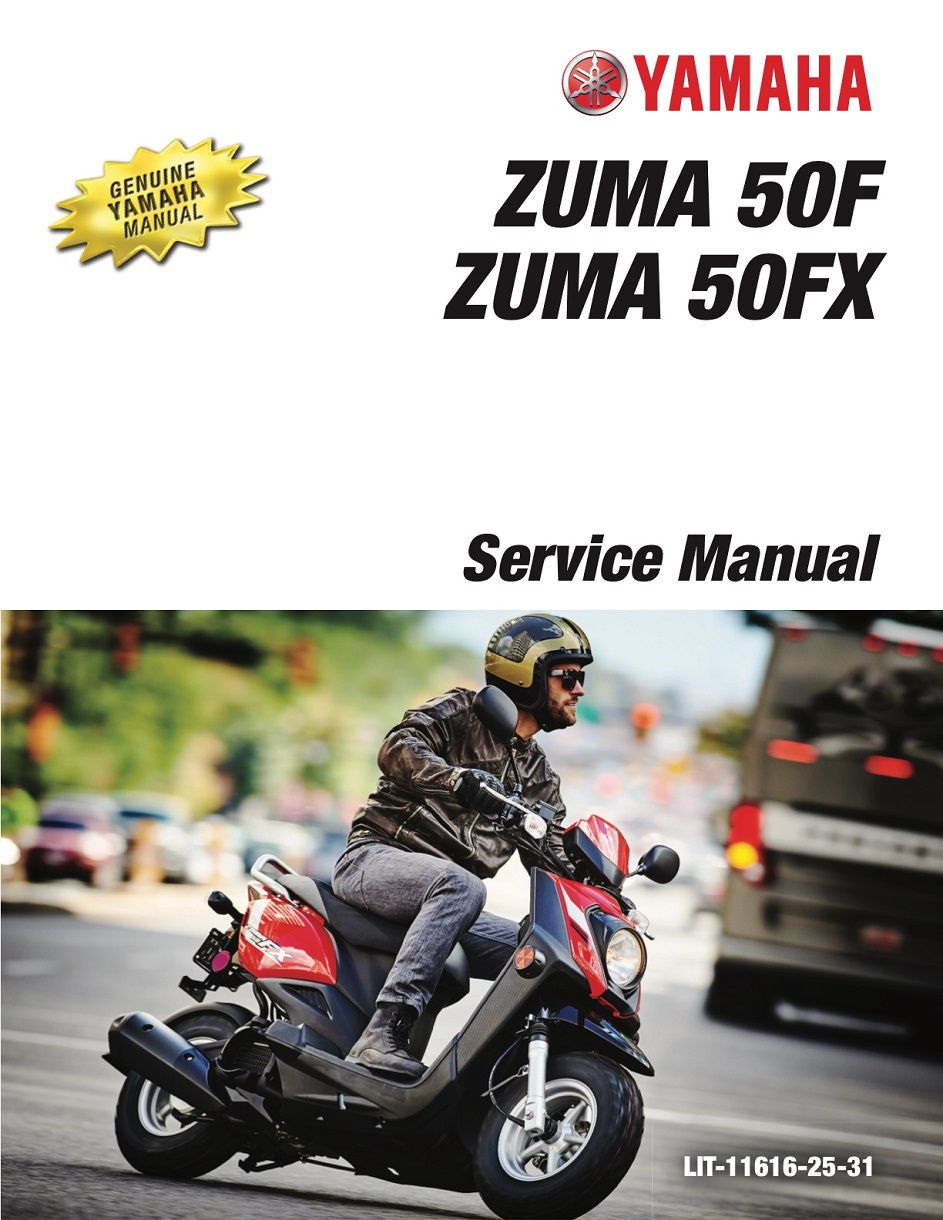 Yamaha Scooter Zuma 50f Workshop  U0026 Repair Manual