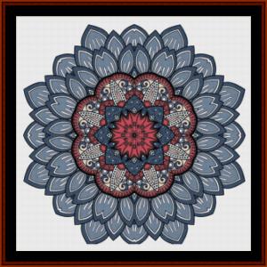 Mandala 46 cross stitch pattern by Cross Stitch Collectibles | Crafting | Cross-Stitch | Other