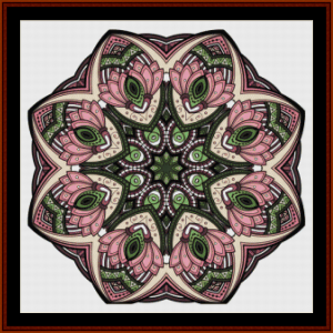 Mandala 49 cross stitch pattern by Cross Stitch Collectibles | Crafting | Cross-Stitch | Other