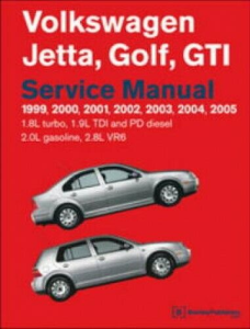 1999 - 2005 bentley vw jetta golf gti service repair manual