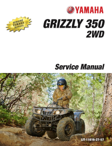YAMAHA ATV GRIZZLY 350 2WD 2014  Workshop & Repair manual | Documents and Forms | Manuals