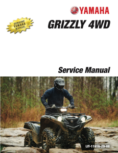 YAMAHA ATV GRIZZLY 700 4WD 2016  Workshop & Repair manual | Documents and Forms | Manuals