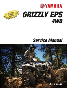 YAMAHA ATV GRIZZLY EPS 4WD 2017  Workshop & Repair manual | Documents and Forms | Manuals