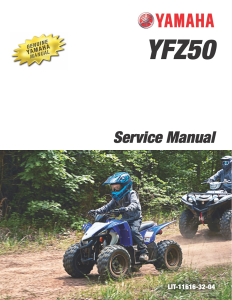 YAMAHA ATV YFZ50 2019-2020 Workshop & Repair manual | Documents and Forms | Manuals
