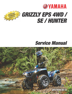 YAMAHA ATV GRIZZLY EPS 4WD  Workshop & Repair manual | Documents and Forms | Manuals