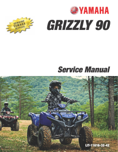 YAMAHA ATV GRIZZLY 90 2019-2020 Workshop & Repair manual | Documents and Forms | Manuals
