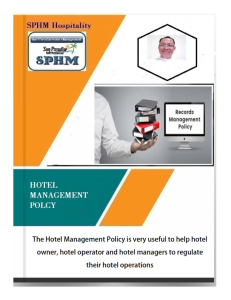 hotel management policy manual