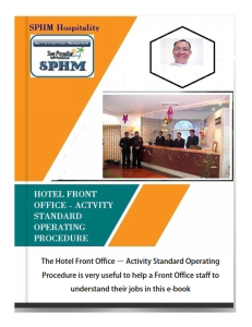 hotel front office s.o.p - activity