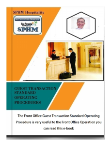 hotel front office s.o.p - transactions