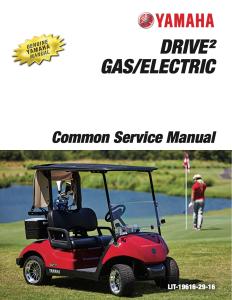 YAMAHA GOLF CAR DRIVE2 Workshop & Repair manual   Documents and Forms   Manuals
