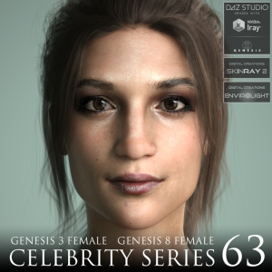 celebrity series 63 for genesis 3 and genesis 8 female