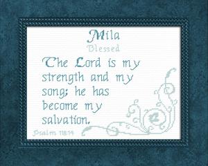name blessings - mila
