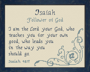 name blessings - isaiah 4