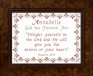 Name Blessings - Annabelle 3 | Crafting | Cross-Stitch | Other