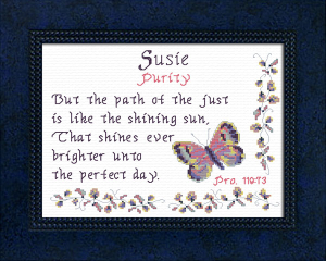 Name Blessings - Susie 3 | Crafting | Cross-Stitch | Other