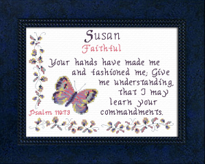 Name Blessings - Susan 3 | Crafting | Cross-Stitch | Other