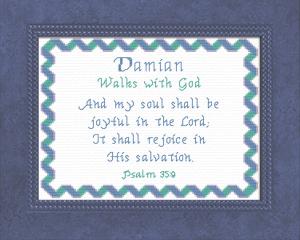 name blessings - damian