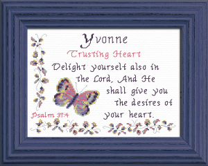 Name Blessings - Yvonne | Crafting | Cross-Stitch | Other