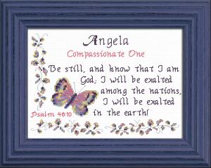 name blessings - angela 2