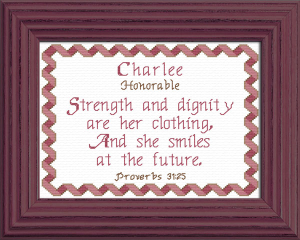 Name Blessings - Charlee | Crafting | Cross-Stitch | Other