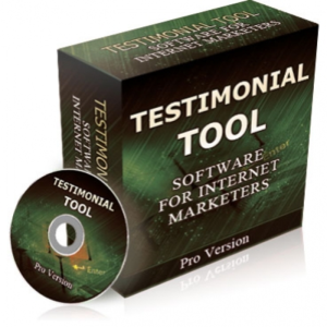 Testimonial tool PRO- product with reseller license (PLR) | Software | Software Templates