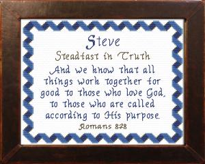 name blessings - steve 2