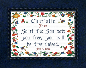 Name Blessings - Charlotte 4 | Crafting | Cross-Stitch | Other