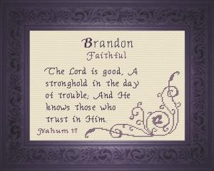 name blessings - brandon