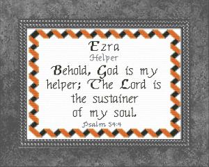 name blessings - ezra 2