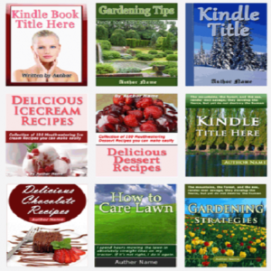 kindle cover templates- product with reseller license (plr)