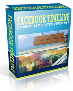 facebook timeline cover version 7- product with reseller license (plr)