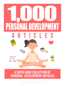 1000 personal development articles