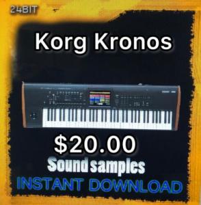 Korg Kronos sound Samples 135GB | Music | Soundbanks