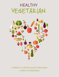 Healthy Vegetarian | eBooks | Health