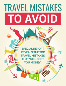 Travel Mistakes to Avoid | eBooks | Self Help