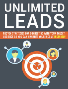 Unlimited Leads | eBooks | Business and Money