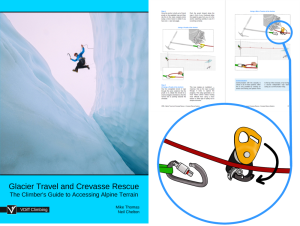 vdiff glacier travel and crevasse rescue