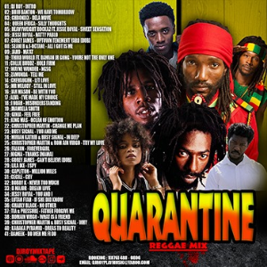 dj roy quarantine reggae mix 2020