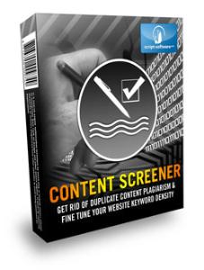 content screener