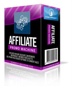 affiliate promo machine