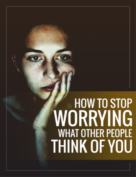 First Additional product image for - How To Stop Worrying What People Think About You - E-Book and Video Series [Full reseller rights included]