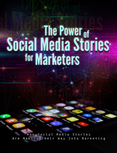 the power of social media stories - how social media stories make their way into marketing - e-book and 10 part video series [full reseller rights licence included]